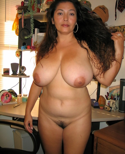 Mexican with big tits naked