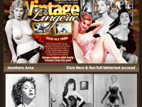 Vintage Lingerie