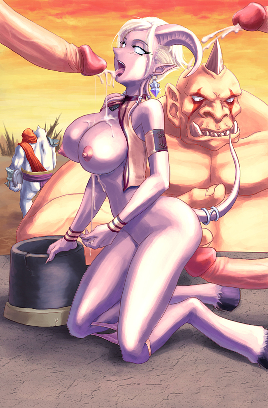 Draenei and ogre fucked pic adult tube