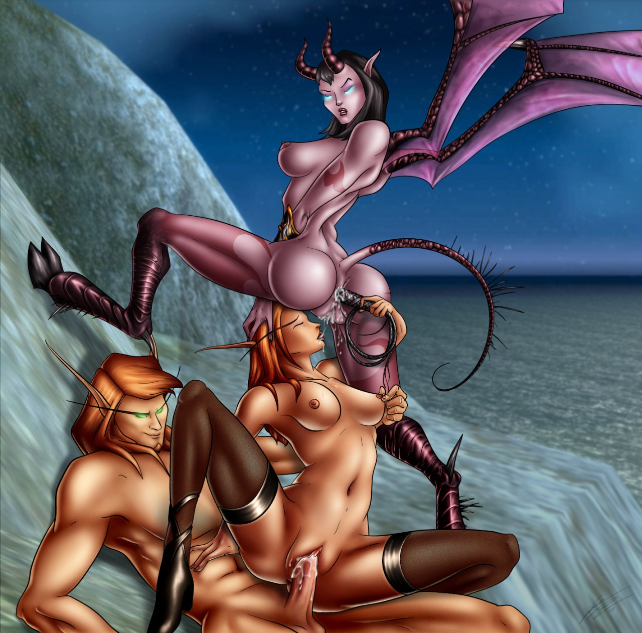 Nude demonic female vampires erotic bizarre girl