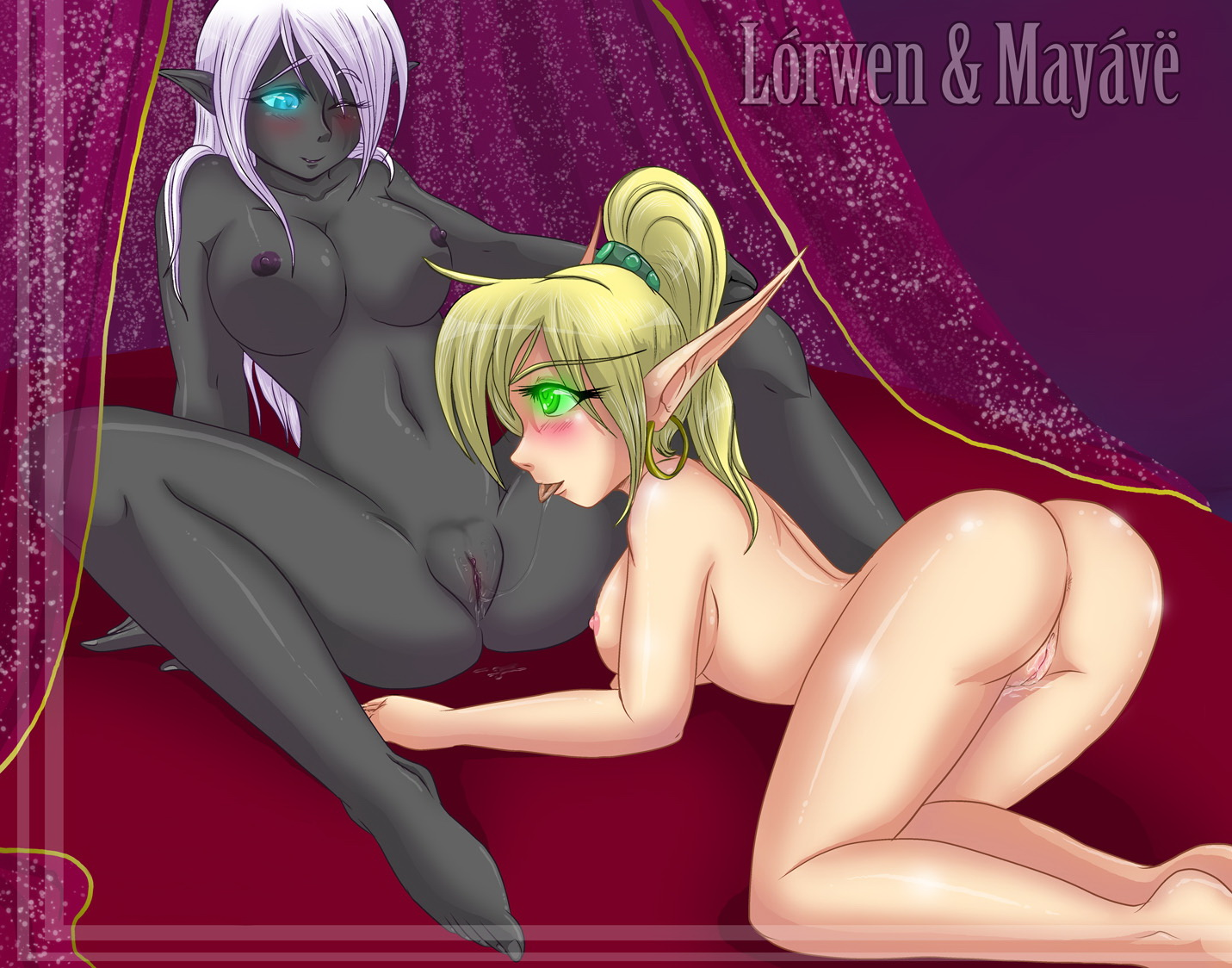 Warcraft sex elves hentai sex pictures