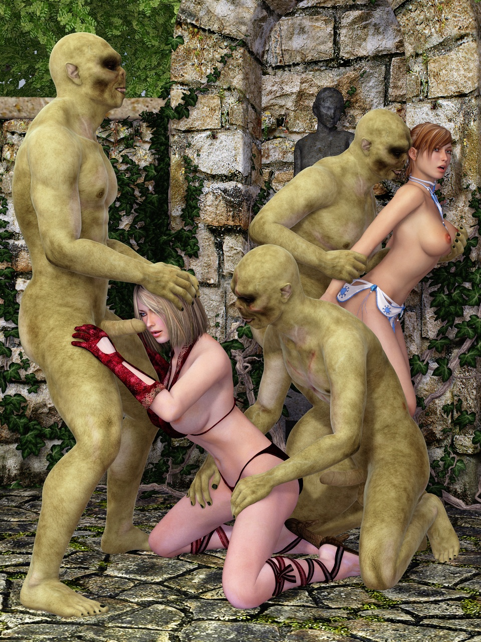 Elf's nude World of Porncraft nude thumbs