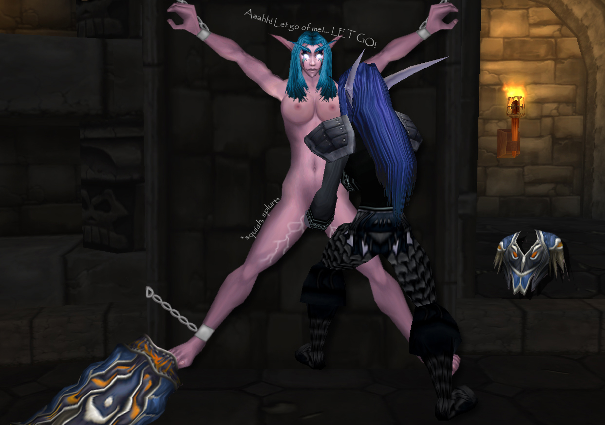 Nude mod for wow cartoon scenes