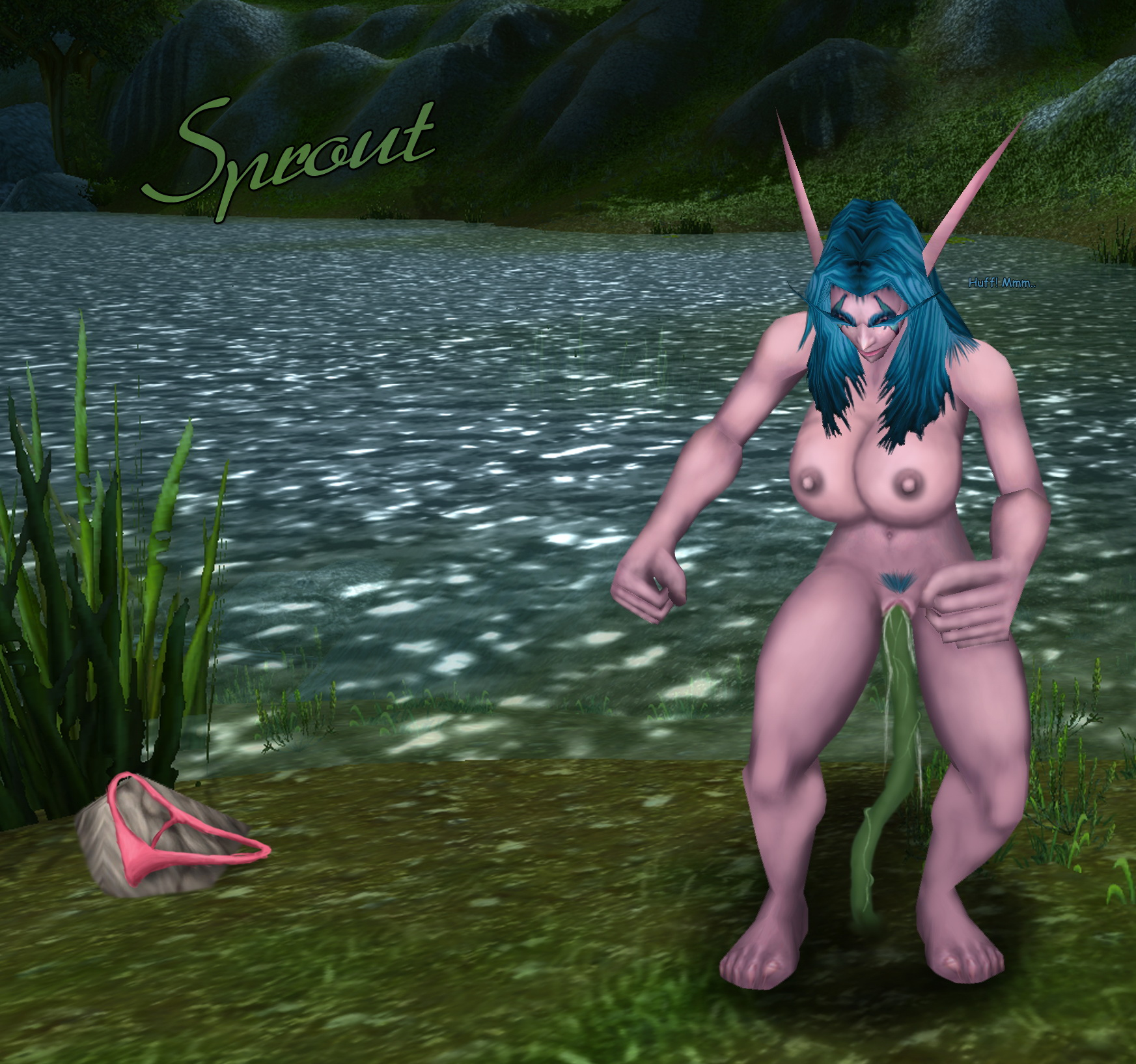 Wow blood elf nude patch adult whore