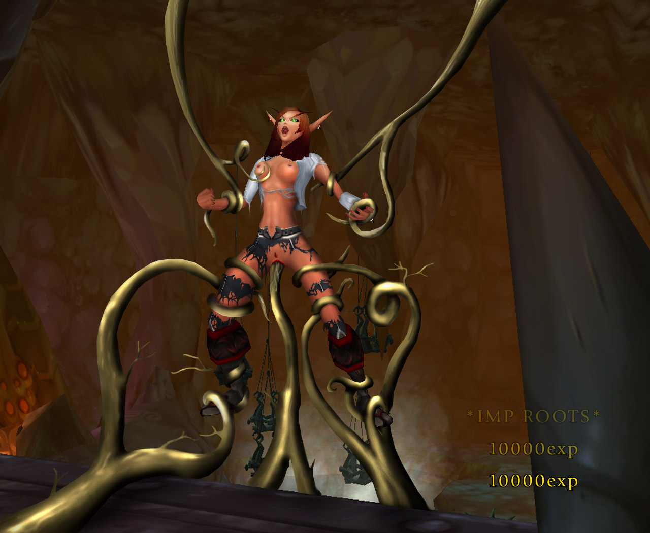 World of warcraft dark elf naked nackt images