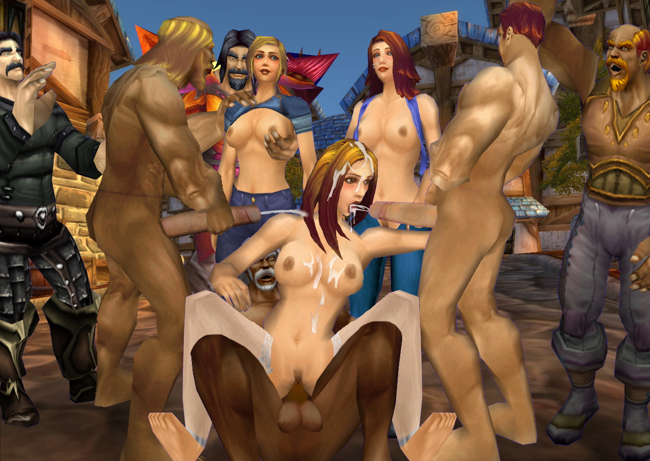 World of warcraft nude paradoy exploited image