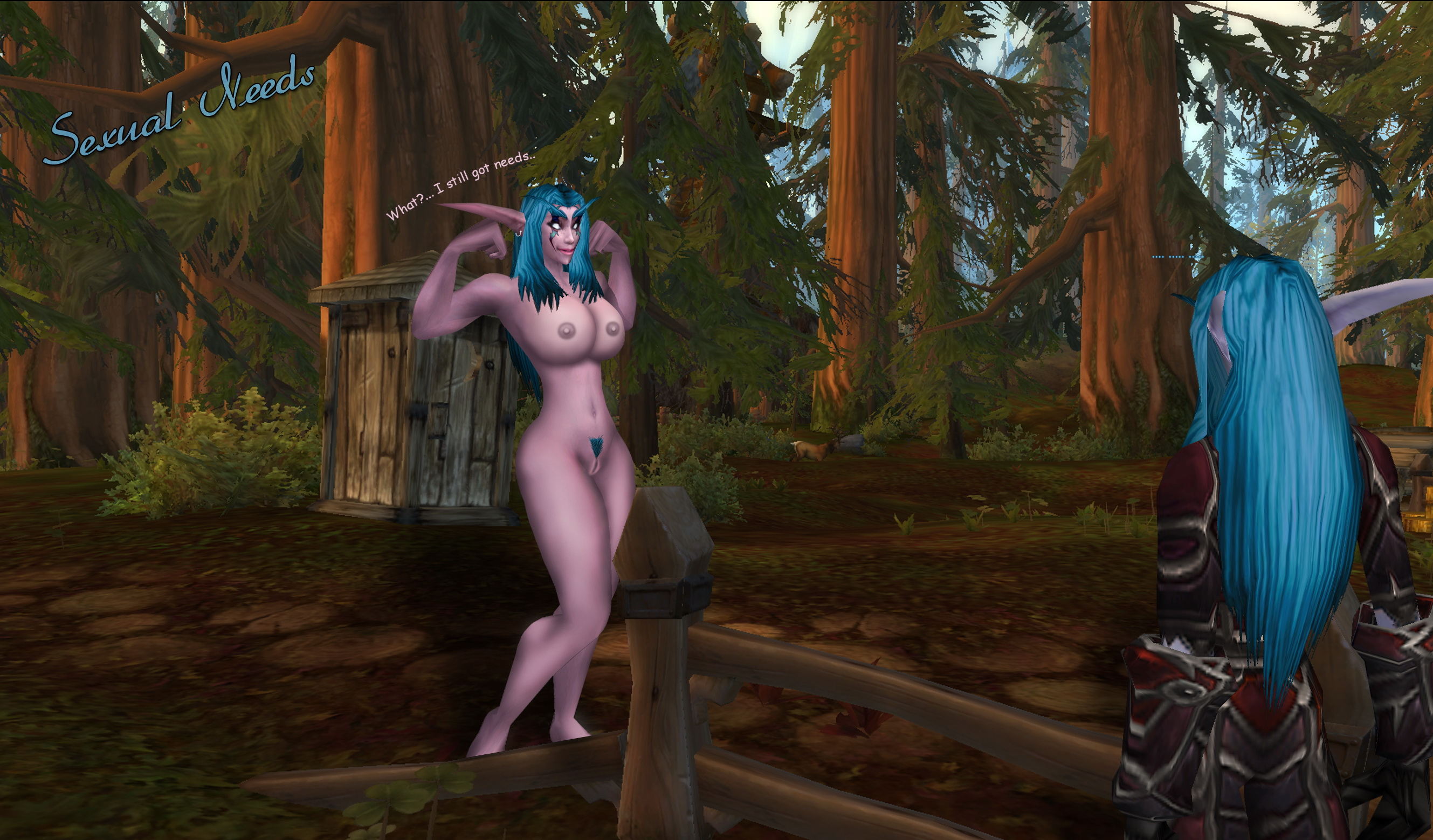 Naked addon world of warcraft nsfw scene