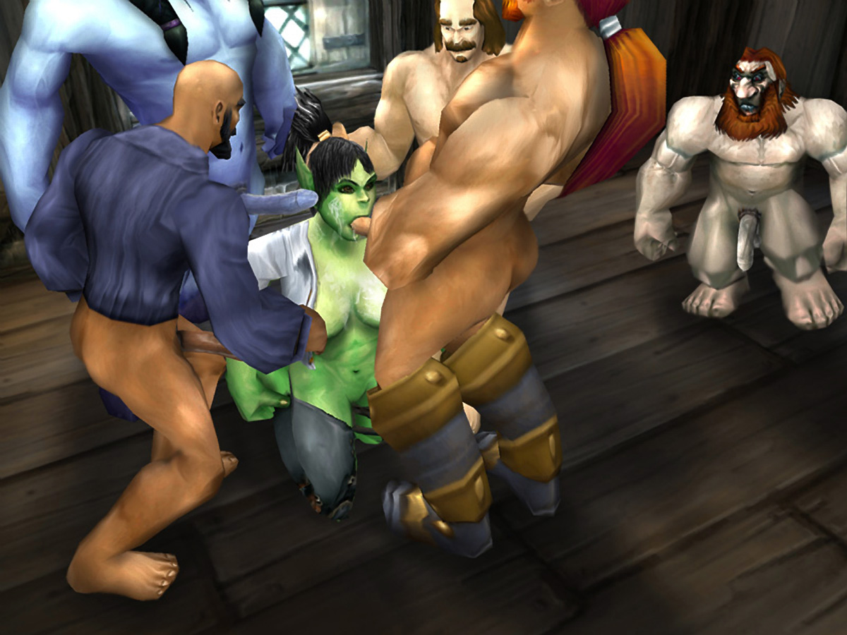 3d World of Warcraft porn addon xxx women