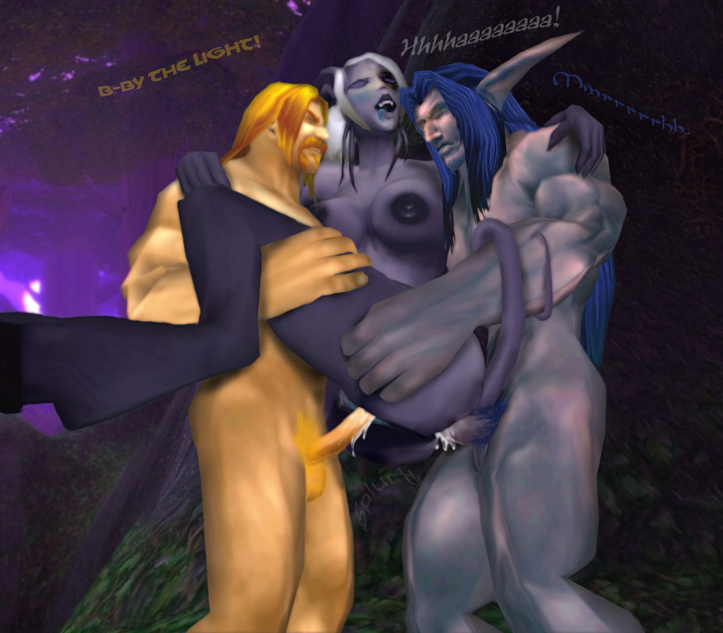Video game nude mod wow draenei porn photos