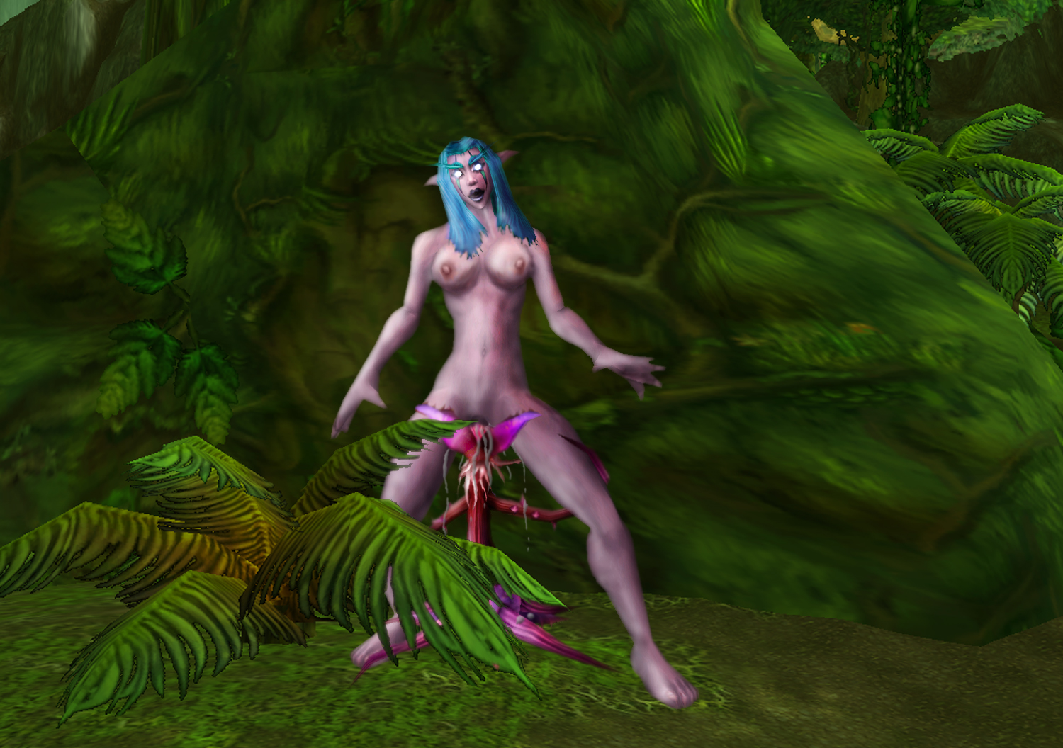 Wordl of Warcraft porn adult curly female