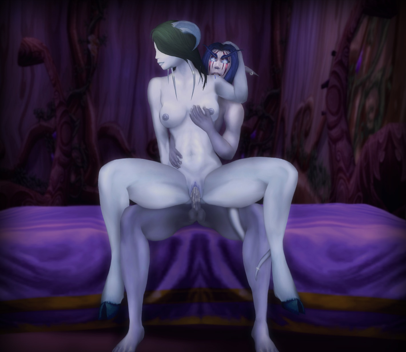 Wow draenei nue en gif erotic photos