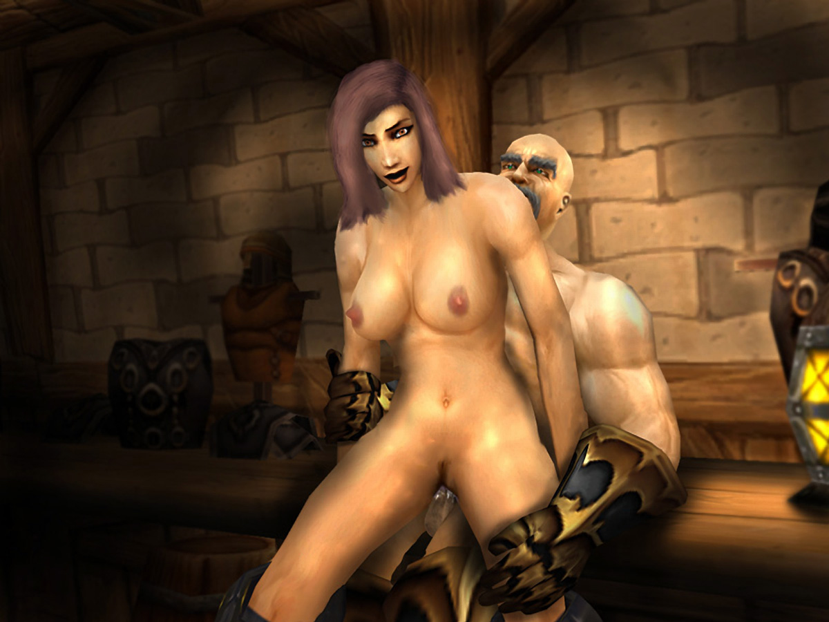 Sexy half naked world of warcraft hentai sexy gallery