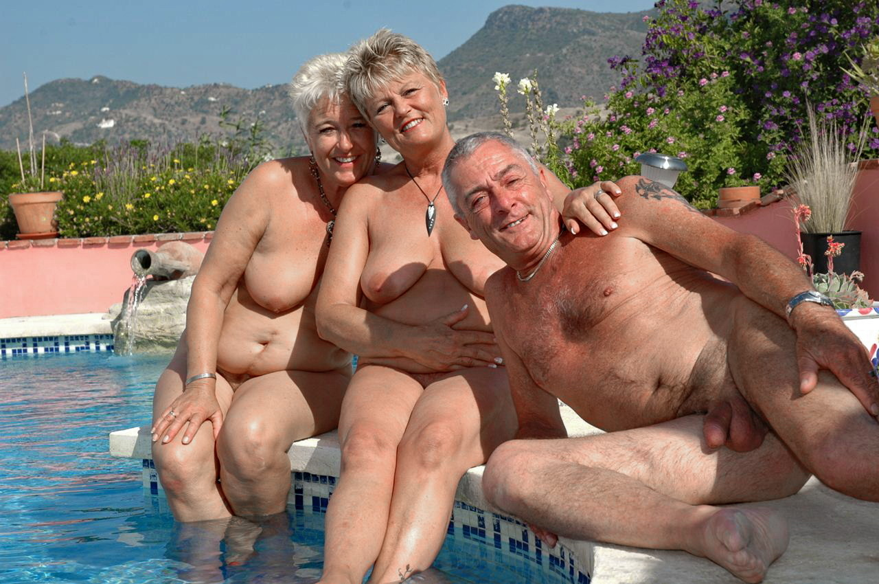 Mature nude party #15