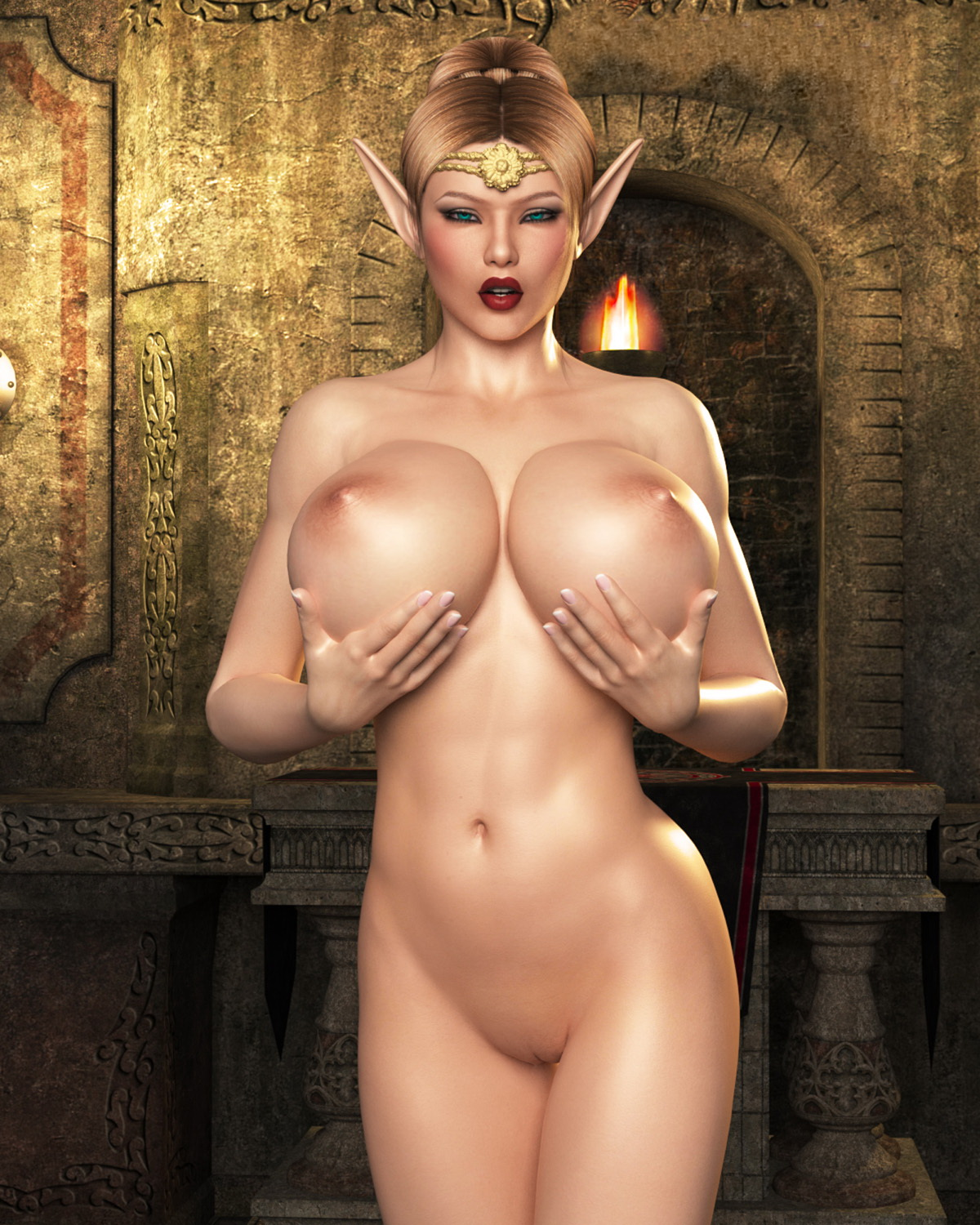 Cartoon 3d nude elf hentai tube