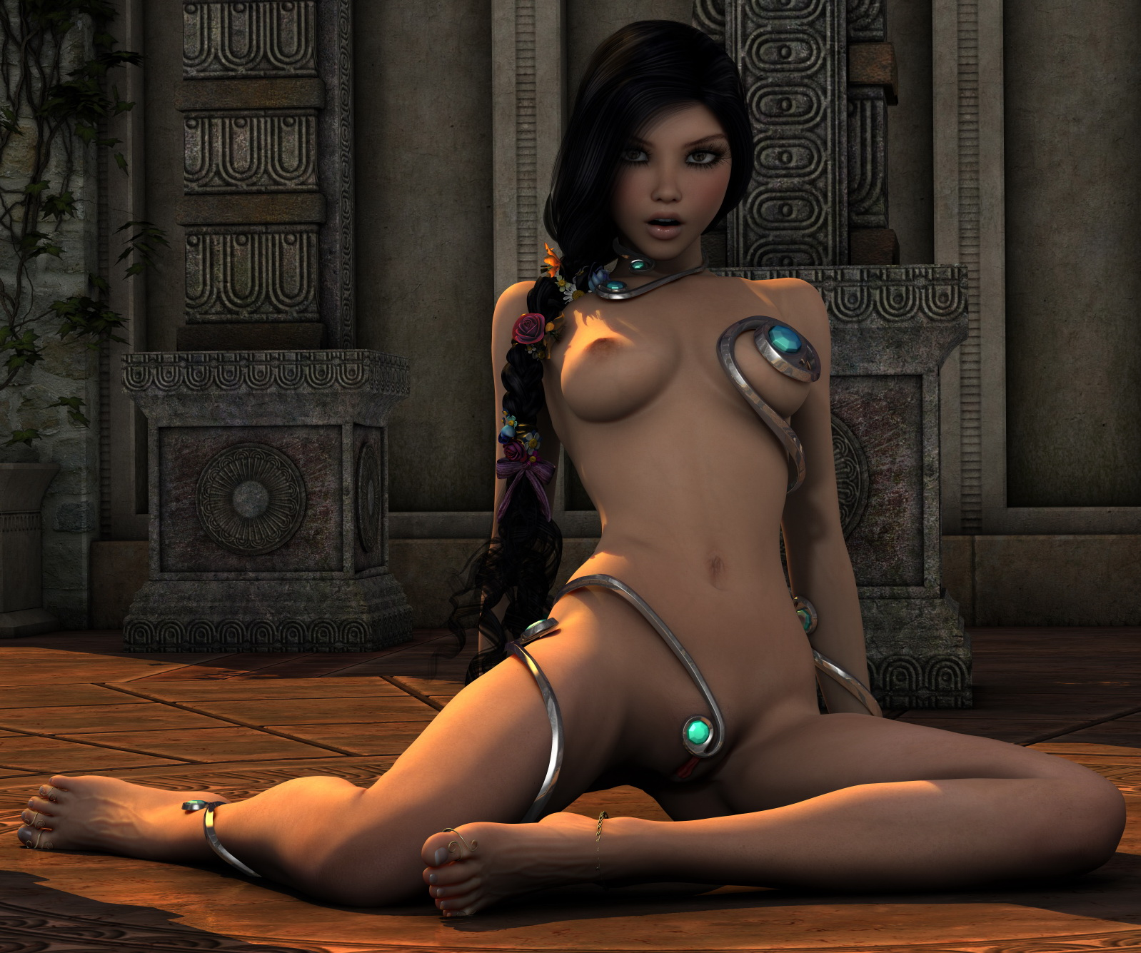 Nude 3d elf toons erotic photo