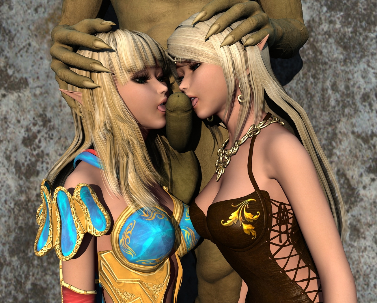 Yuna Warcraft 3d porn anime pictures