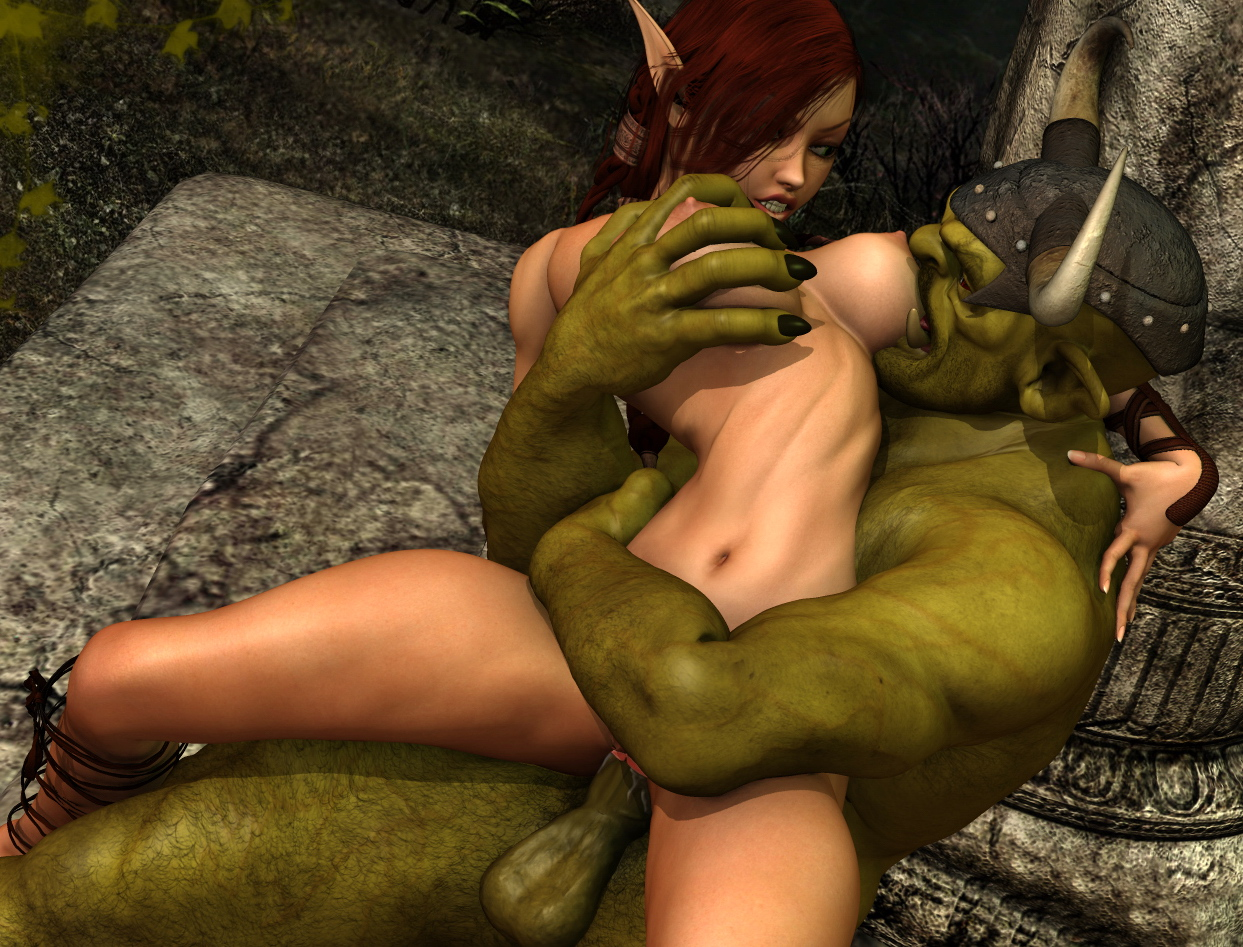 3d elf an orc sex porncraft wild angel