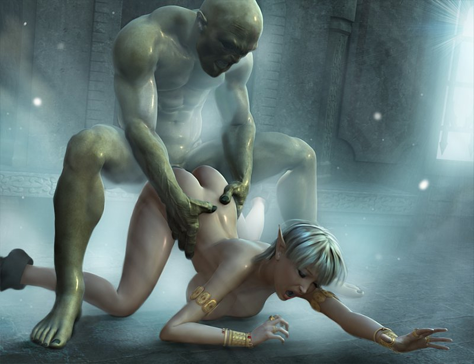 Fantasy 3d monster sex xxx movie