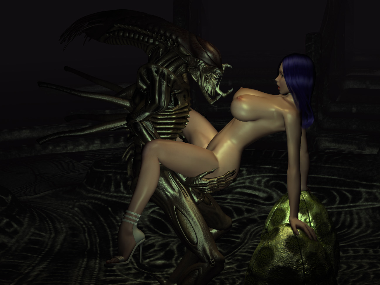 3d aliens sexy sex softcore movie
