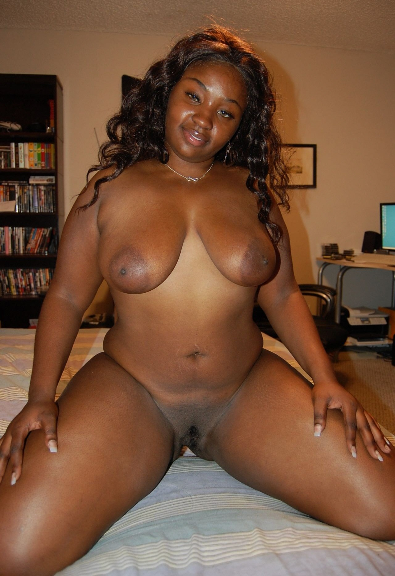 Chubby ebony women