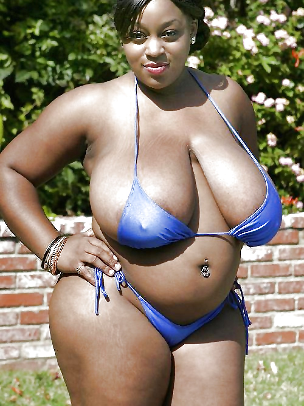 fat girls in small bikini