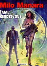 Milo Manara's comic book cover