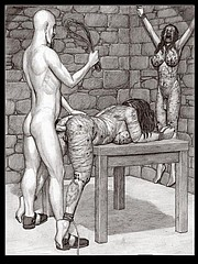 Badia bdsm comic art