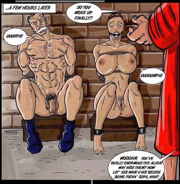 bondage and torture cartoons adult Sexy