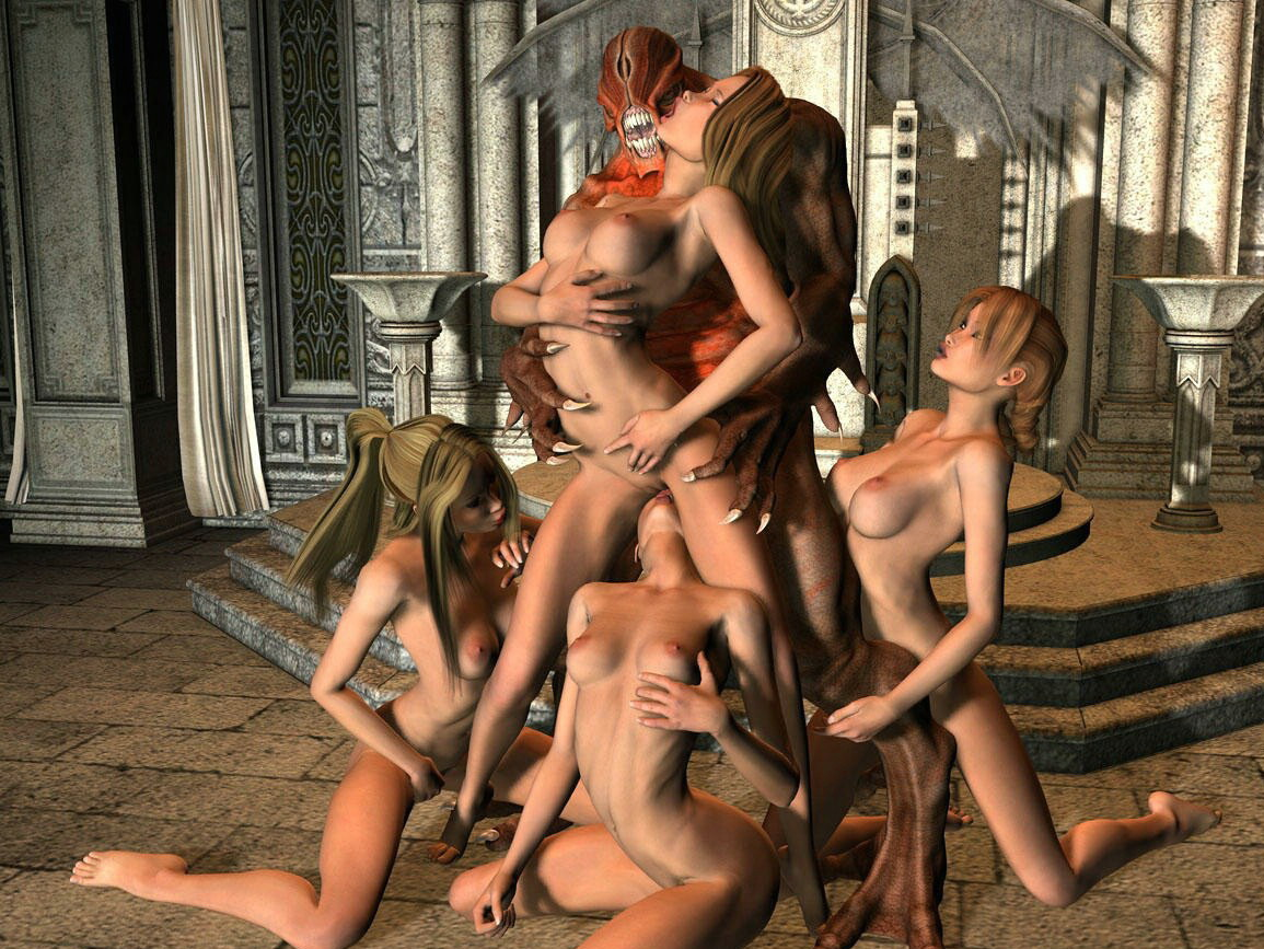 Sexy monster girls nude porncraft pictures
