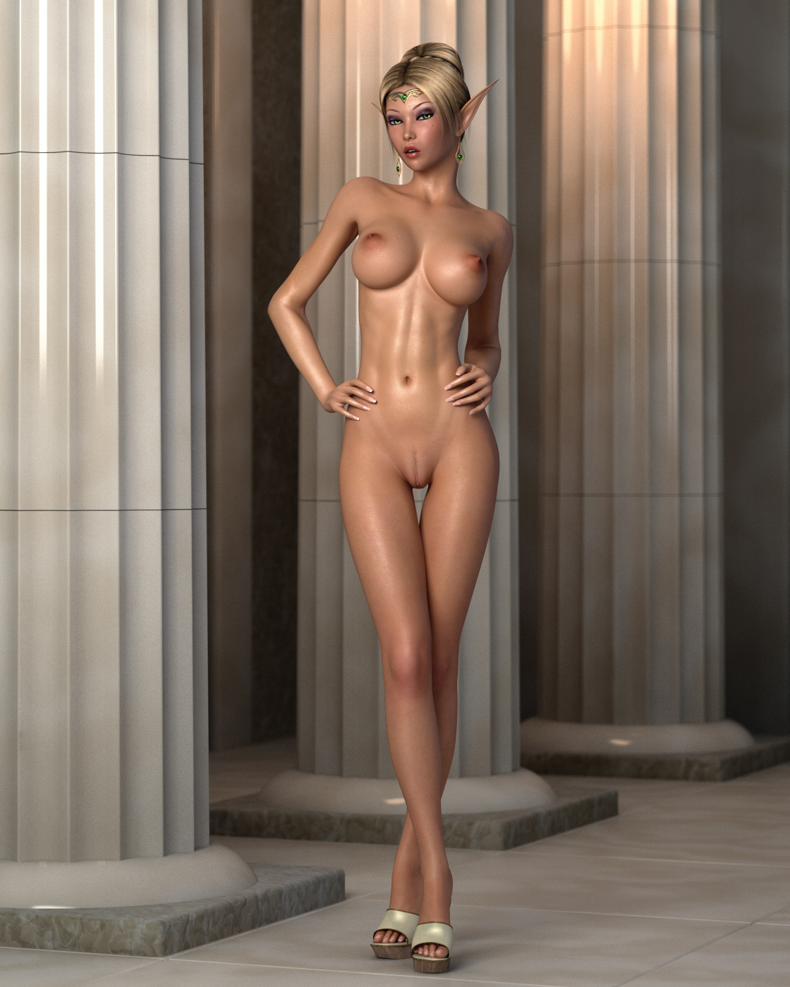 Naked 3d elf girl pictures nude comic