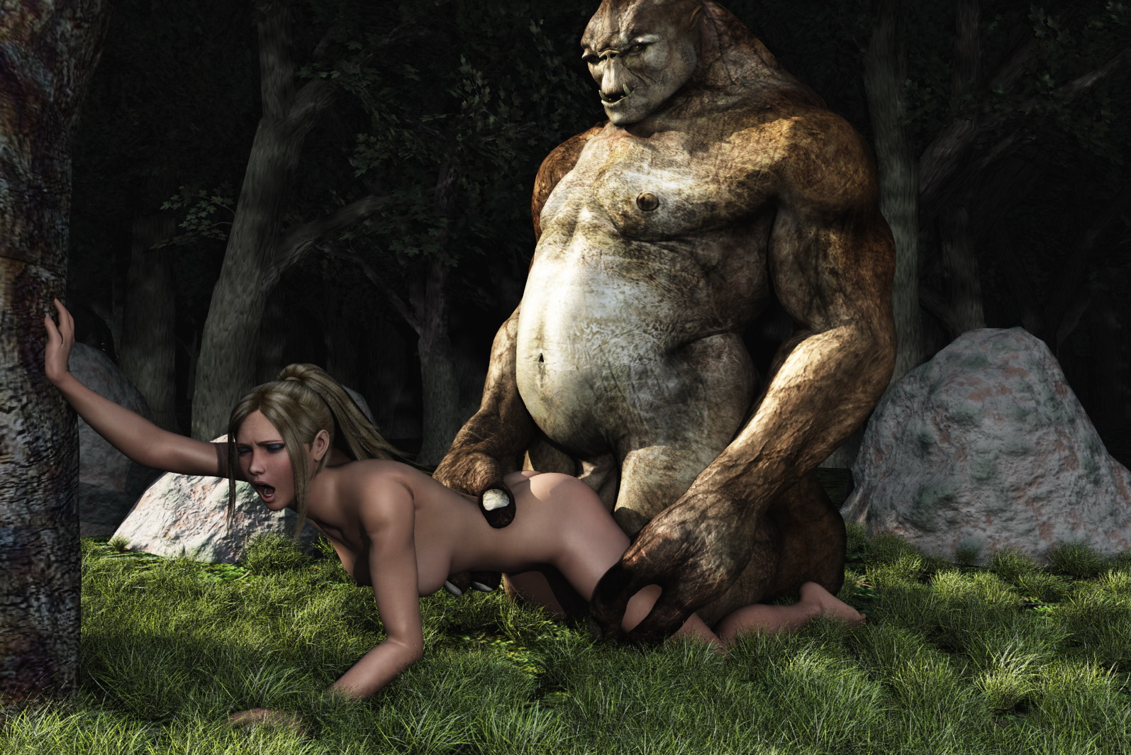 Nude models get screwed by monsters erotic download