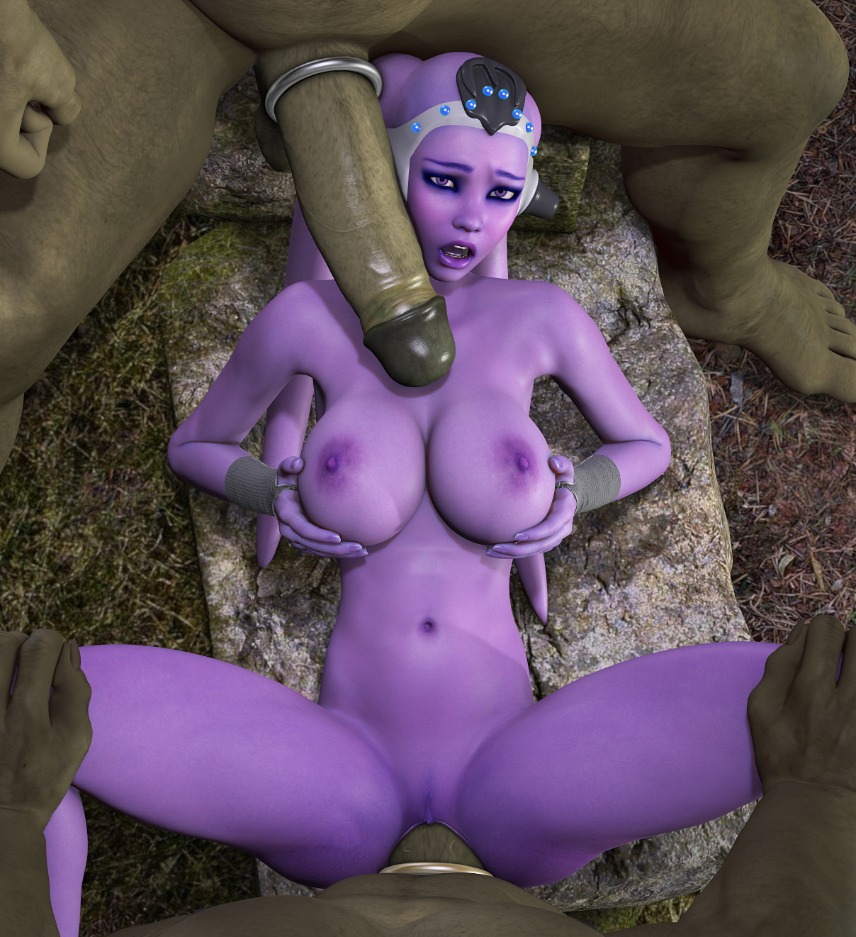 Monster tits fuck 3d smut gallery