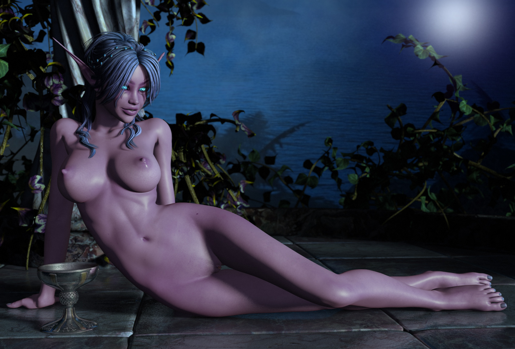 Nightelf pinup lesb nude porn films