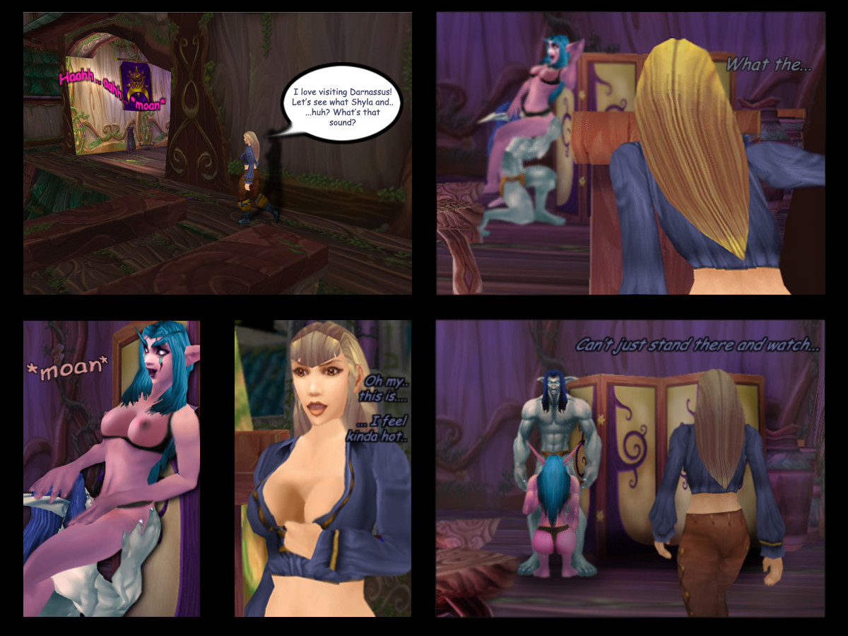 Word of warcraft hentia sexual comics
