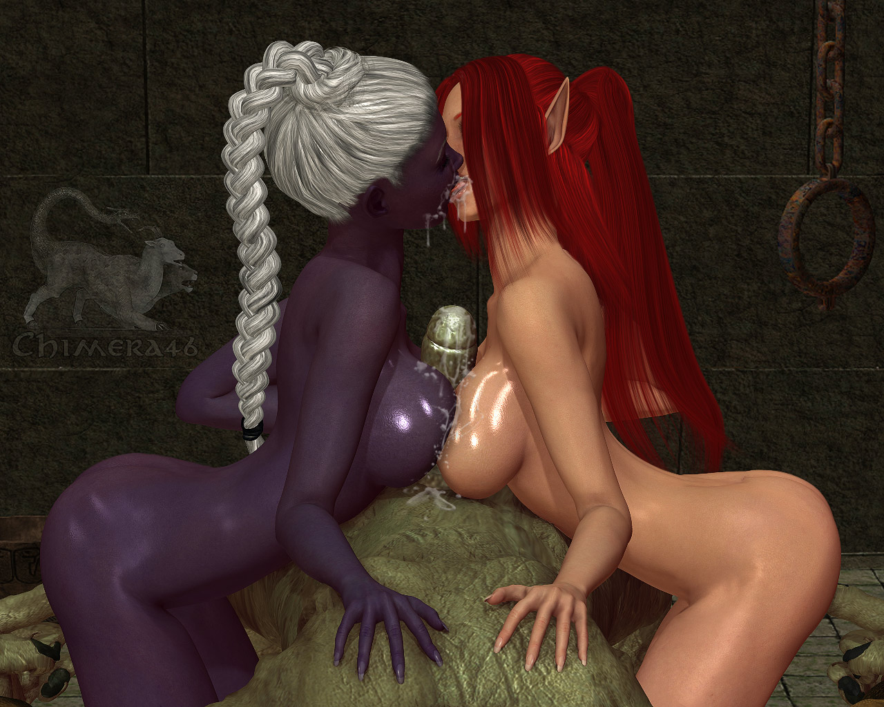 Sexy 3d drow gallery hentai video