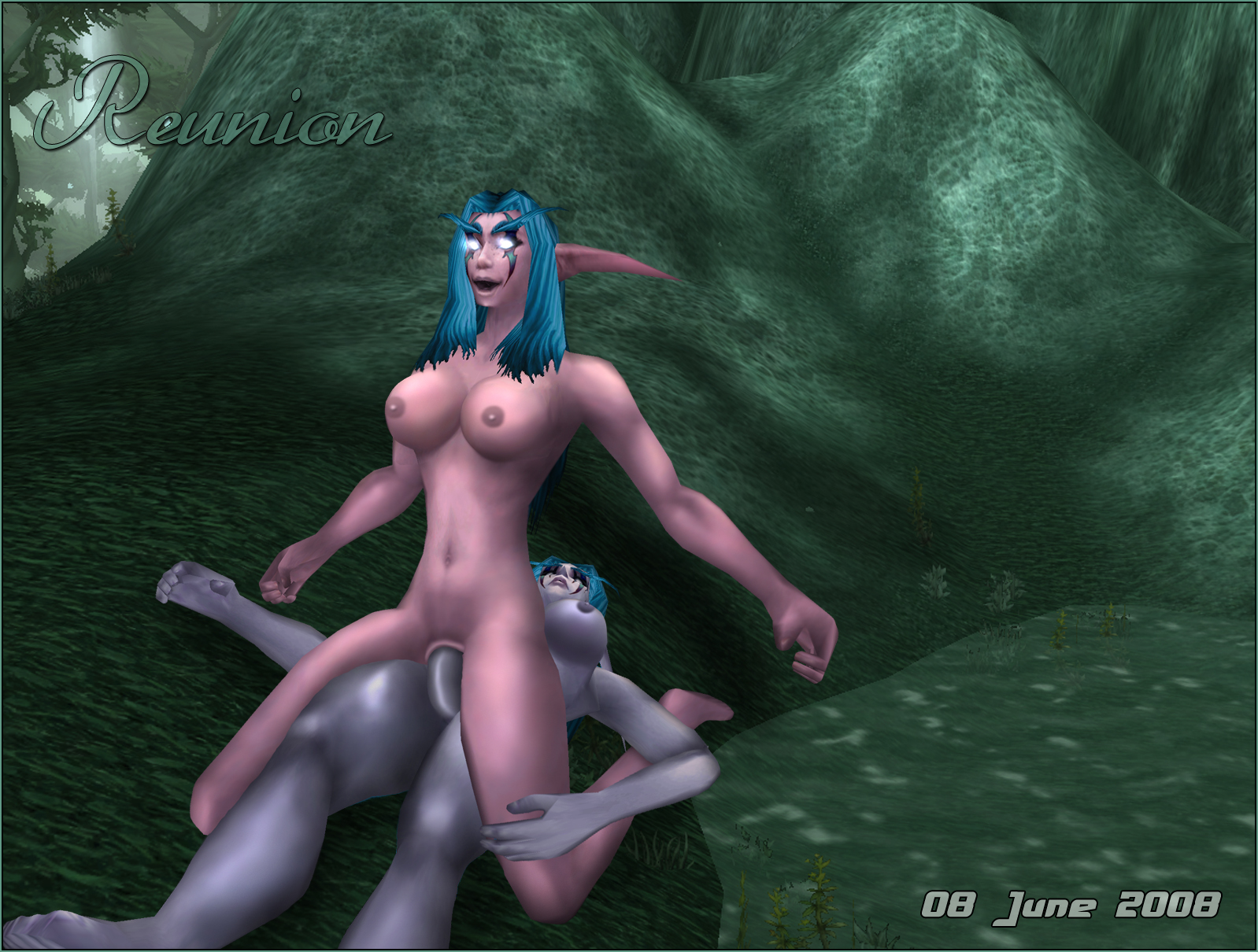 Female night elf nude walk xxx toons