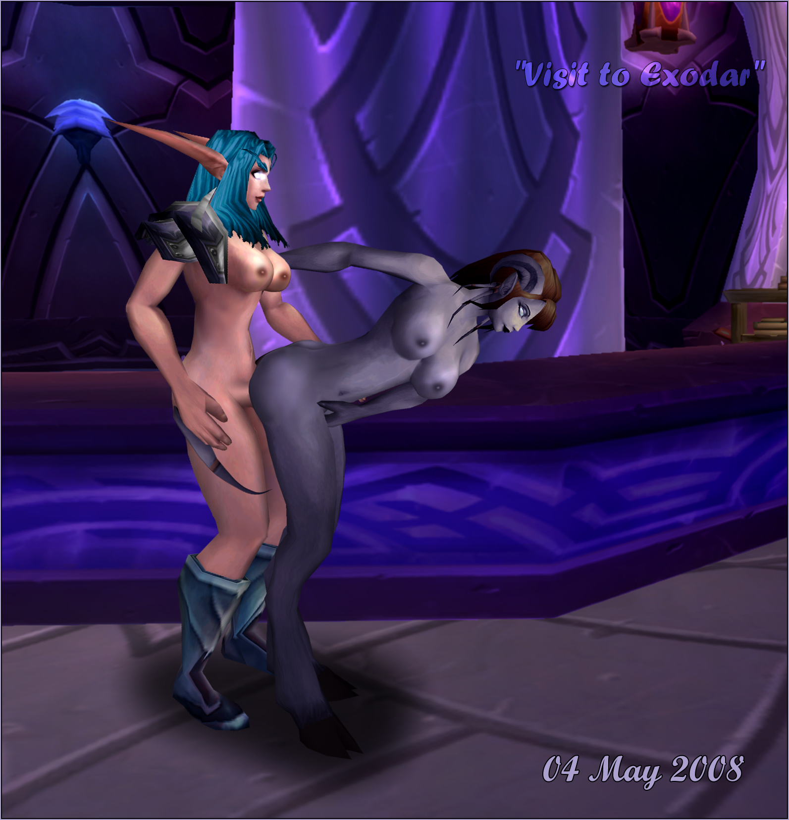 Wow blood elf nude patch adult clips