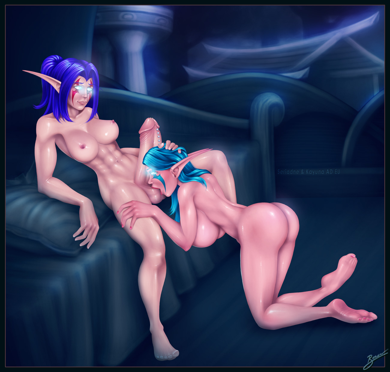 Tyrande slave hentai porno movie