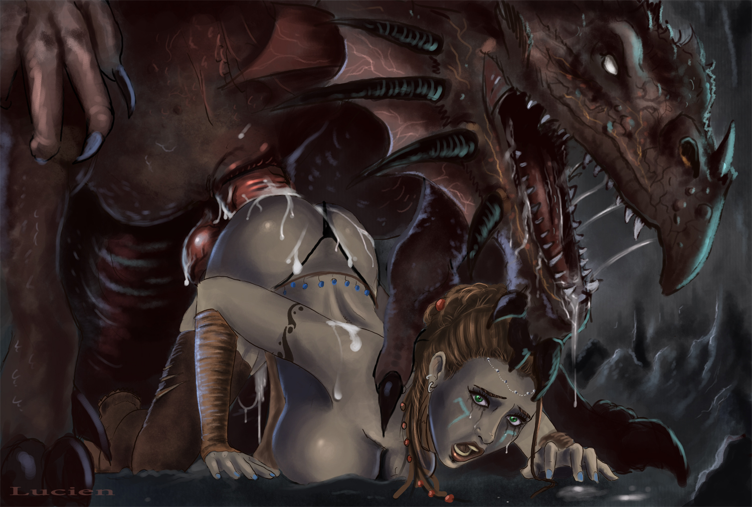 Monster dragon porn videos gay skyrim z  erotic clips