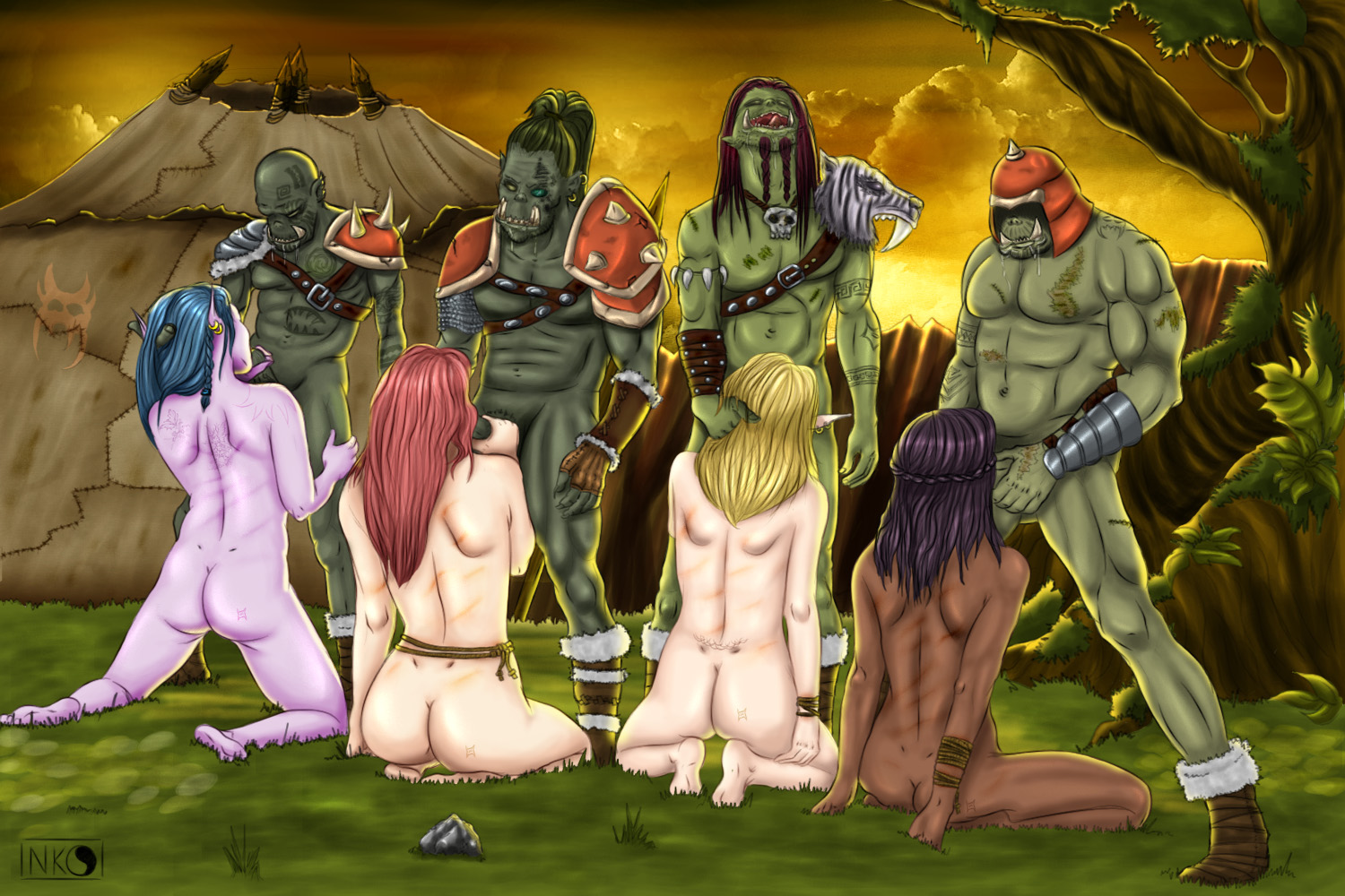 Human and elf world of warcraft porn sexy pic