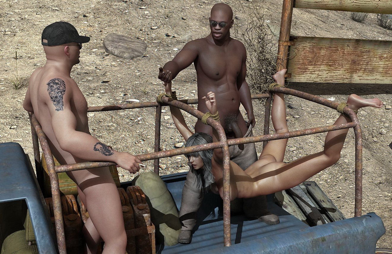 Female slave camp fantasy hentia scenes
