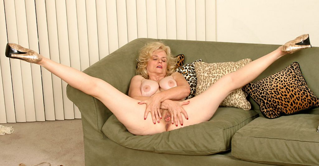 Granny old but still hot fucks young boy