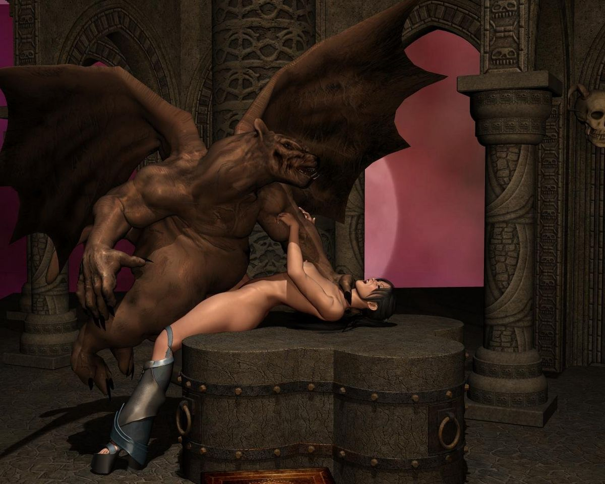 Dragon fuck girl 3d video nude comic