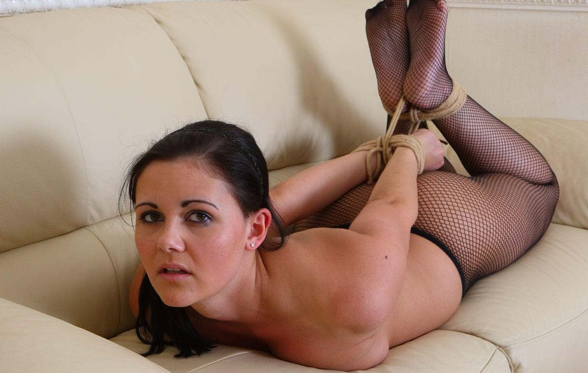 Pantyhose bondage photos